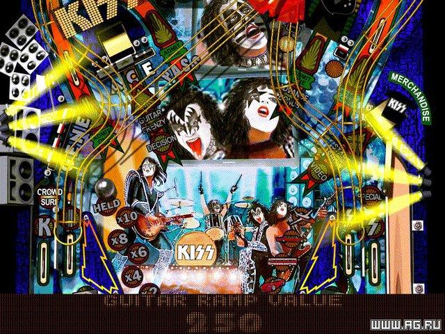 KISS Pinball screenshot