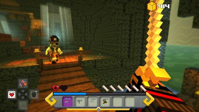 Block Survival: Legend of the Lost Islands screenshot