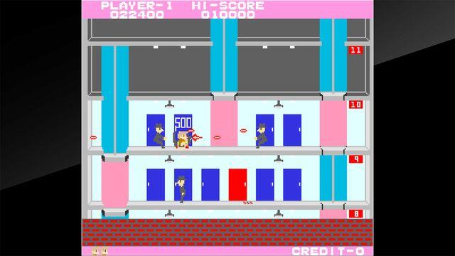 Arcade Archives ELEVATOR ACTION screenshot