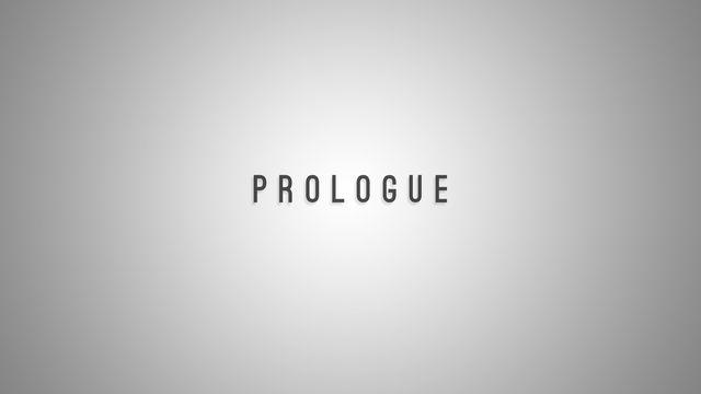 Prologue screenshot