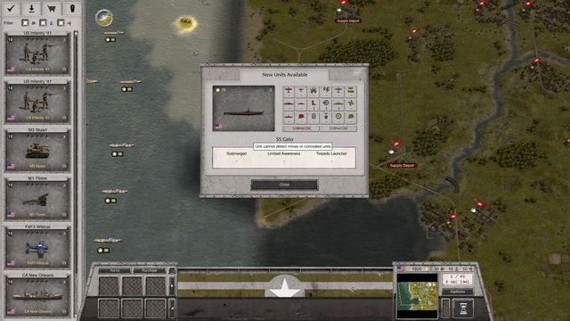 Order of Battle: World War II screenshot