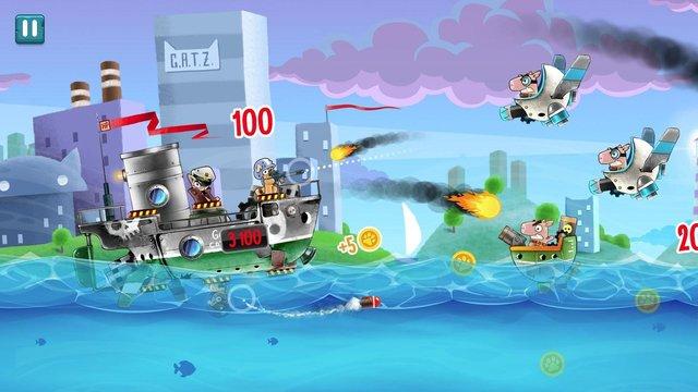 Cats vs Pigs: Battle Arena screenshot