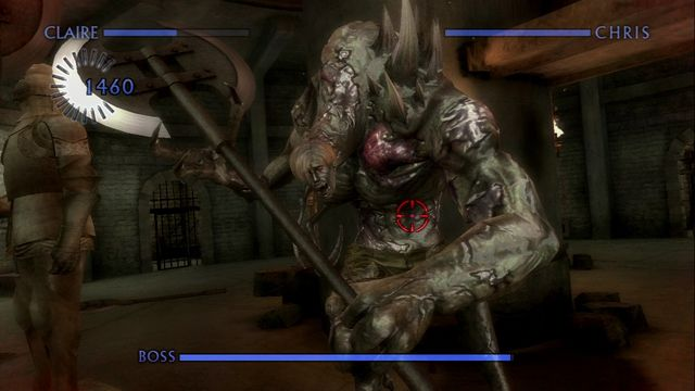 Resident Evil Chronicles HD Collection screenshot