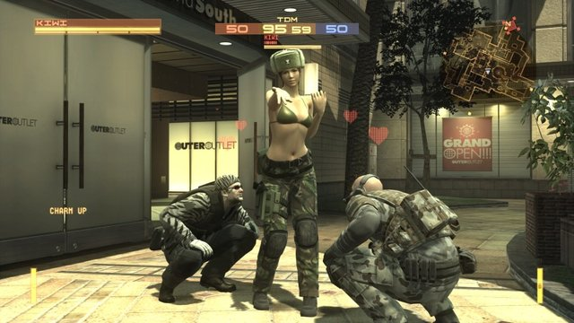 Metal Gear Online screenshot