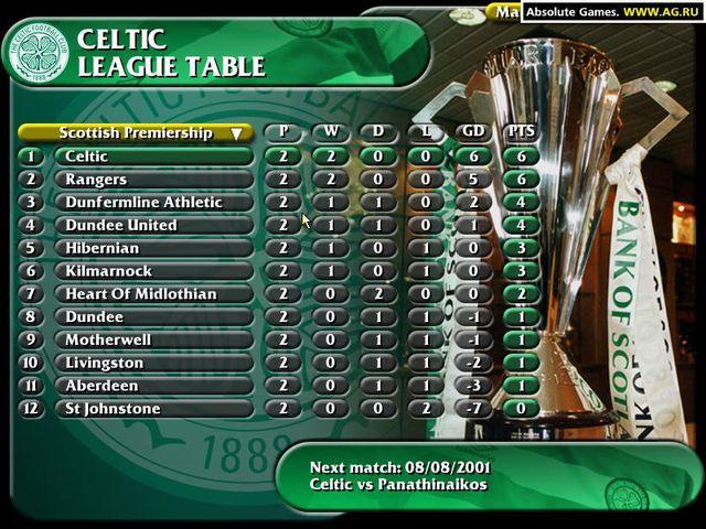 Celtic (Rangers) Football Coach screenshot