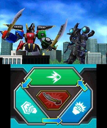 Saban's Power Rangers Super Megaforce screenshot