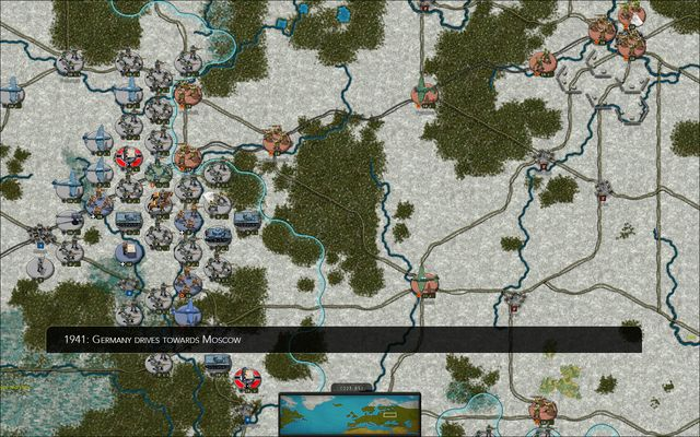 Strategic Command WWII: War in Europe screenshot