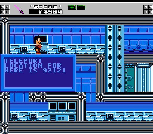 The Adventures of Rad Gravity screenshot
