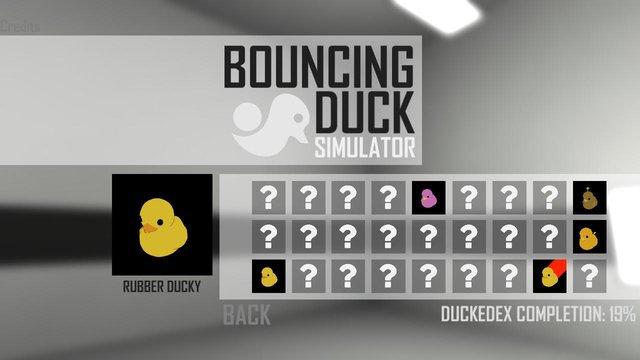 Bouncing Duck Simulator screenshot