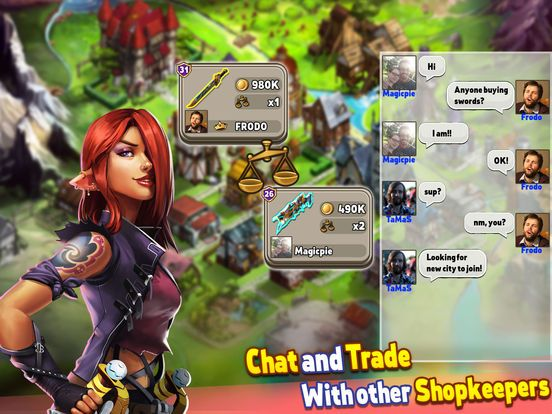 Shop Heroes screenshot