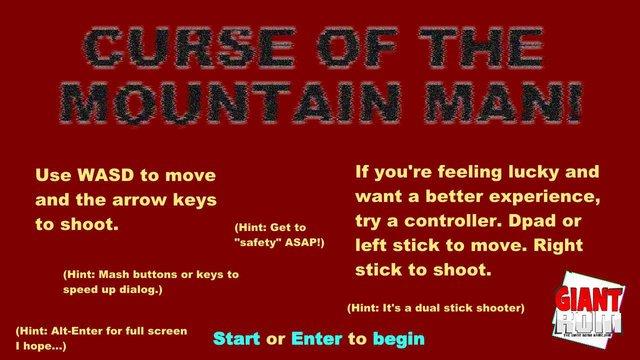 Curse of the Mountain Man screenshot