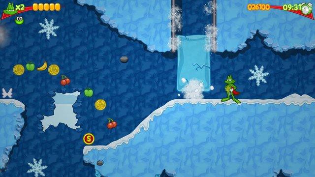 Superfrog HD screenshot