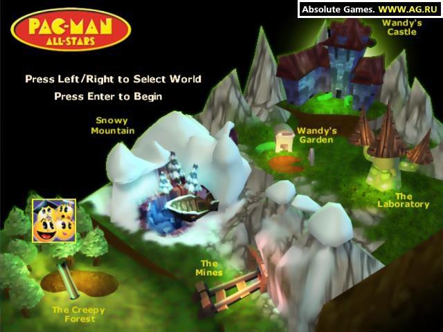 Pac-Man All-Stars screenshot