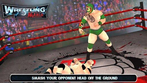WRESTLING MANIA: WRESTLING GAMES & FIGHTING screenshot