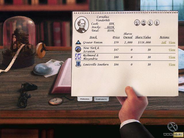 Railroad Tycoon 2 screenshot