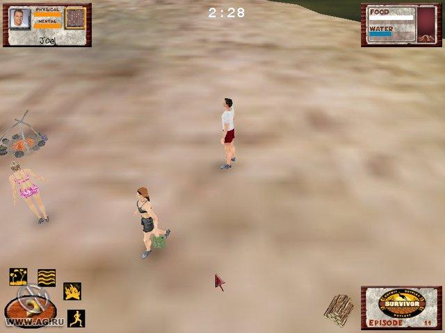 Survivor: The Interactive Game - The Australian Outback Edition screenshot
