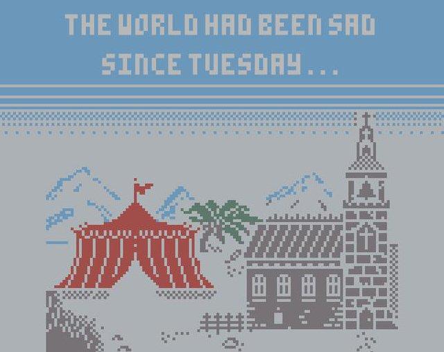The world had been sad since Tuesday screenshot