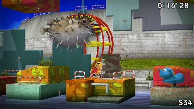 Sayonara Umihara Kawase screenshot