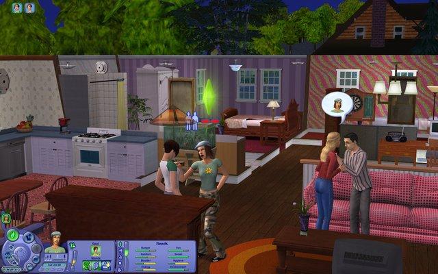 Sims: Житейские истории, The screenshot