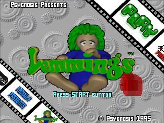 3D Lemmings screenshot