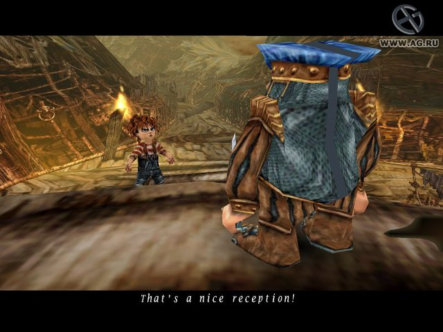 Evil Twin: Cyprien's Chronicles screenshot