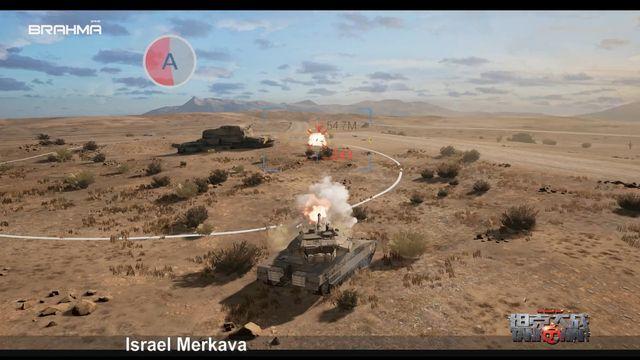 Tank of War-VR screenshot
