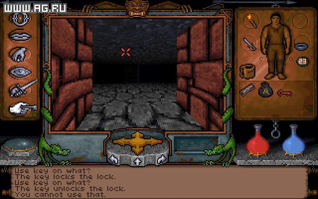 Ultima Underworld: The Stygian Abyss screenshot