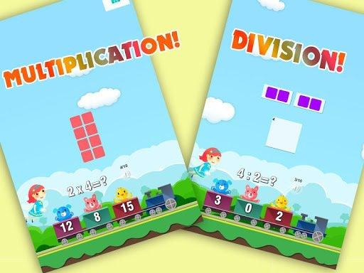 Child Learn Math 1st 2nd grade screenshot