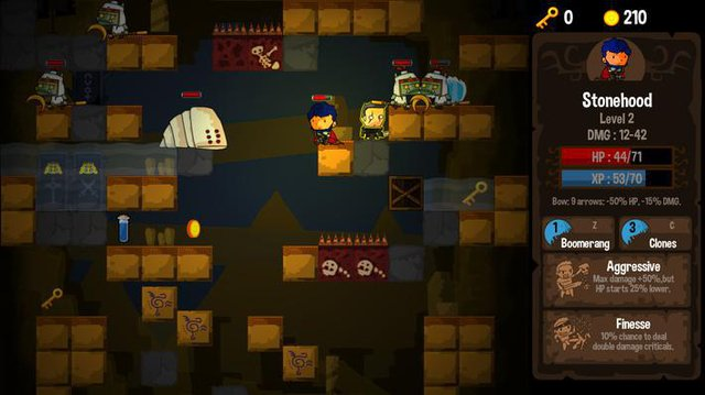 Vertical Drop Heroes HD screenshot