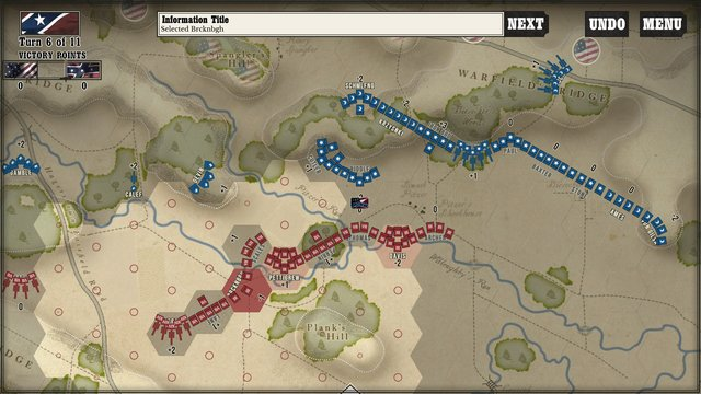 Gettysburg: the Tide Turns screenshot