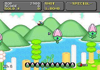 Super Fantasy Zone (1992) screenshot