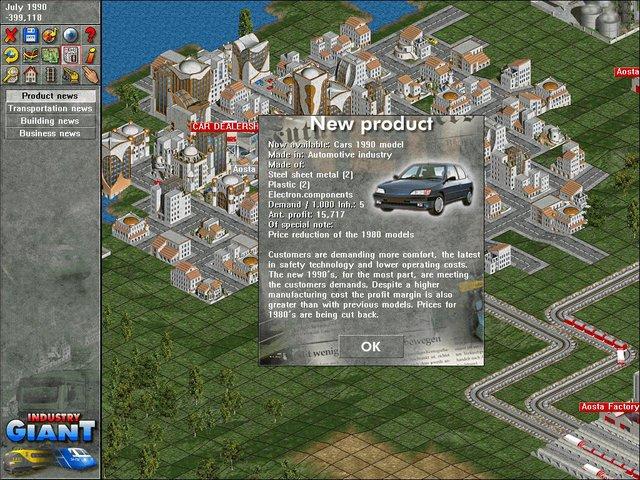 Industry Giant screenshot