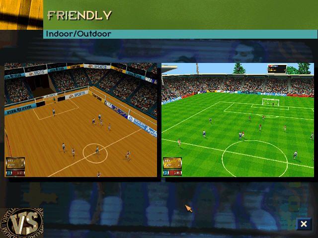 FIFA 97 screenshot
