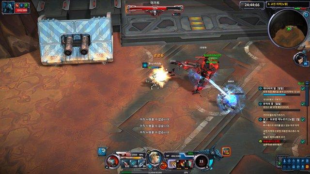 Wild Buster: Heroes of Titan screenshot