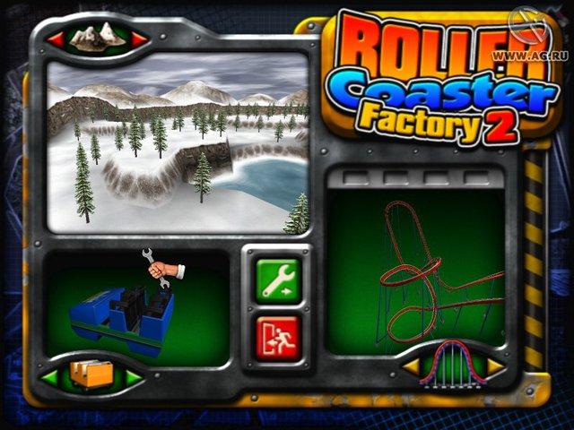 Roller Coaster Factory 2 screenshot