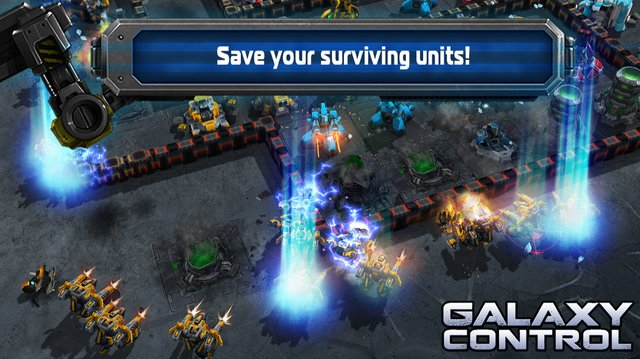 Galaxy Control: 3D Strategy screenshot