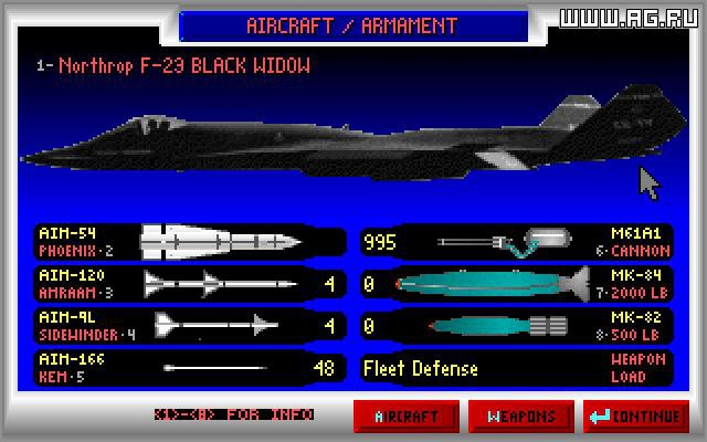 JetFighter 2: Advanced Tactical Fighter screenshot