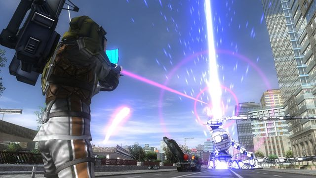 EARTH DEFENSE FORCE 4.1 The Shadow of New Despair screenshot