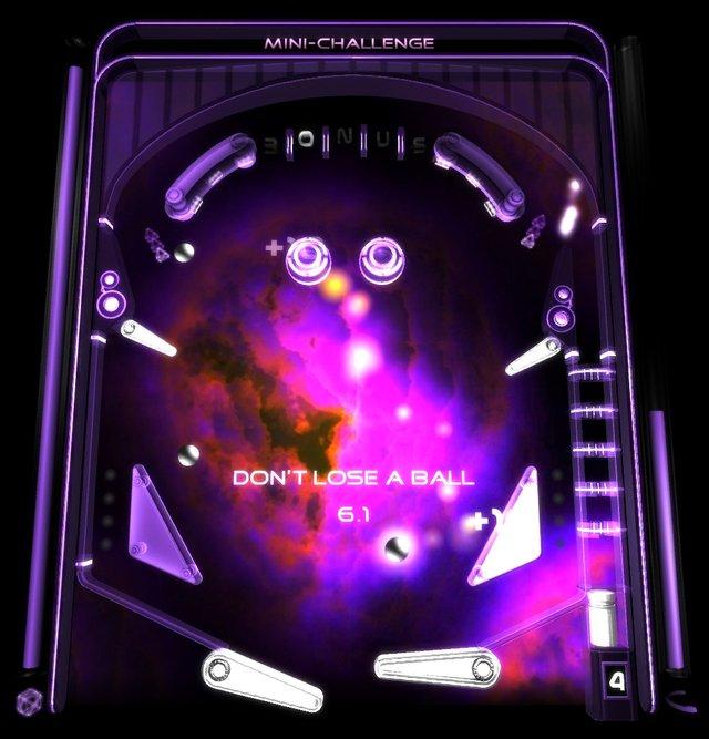 Hyperspace Pinball screenshot