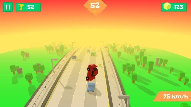 Pixel Traffic: Highway Racing screenshot