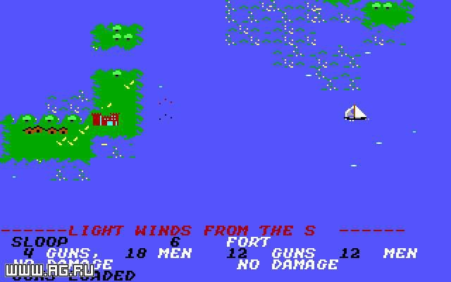 Sid Meier's Pirates! (1987) screenshot
