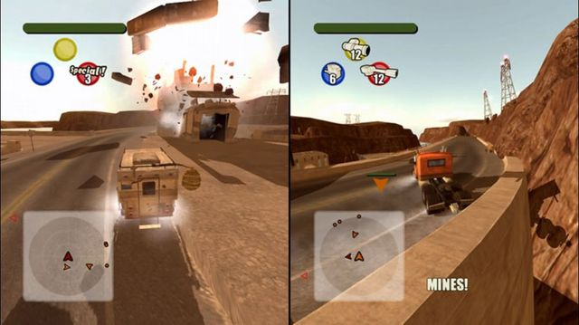 Vigilante 8 Arcade screenshot