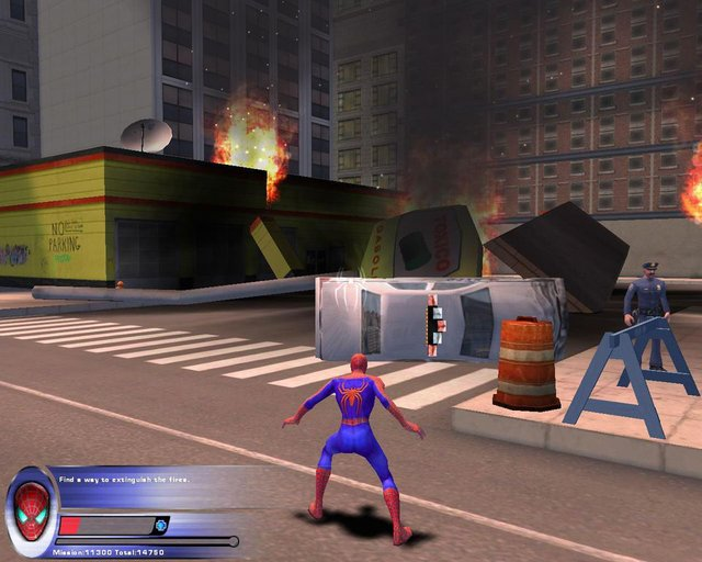 Spider-Man 2 (The Video Game) screenshot