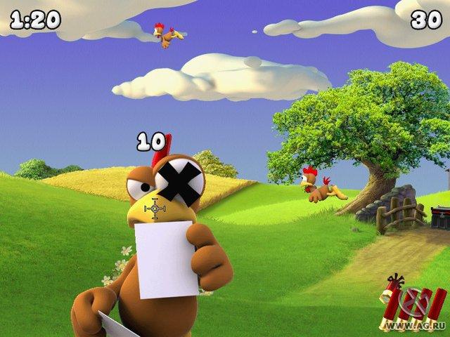Moorhuhn Invasion screenshot