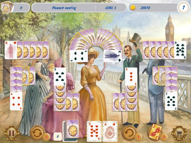 Solitaire Victorian Picnic screenshot