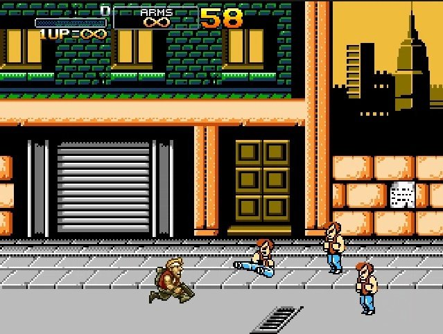 Metal Slug Vs. Double Dragon screenshot