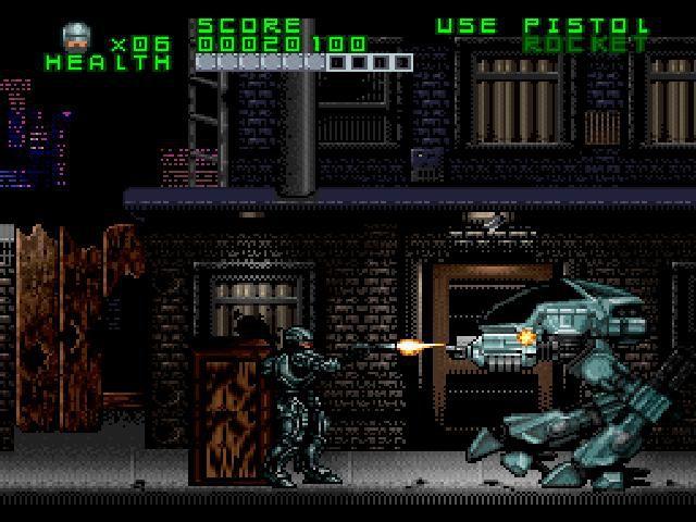 RoboCop Versus The Terminator screenshot