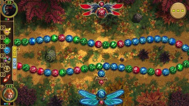 Повелители Сфер: магические дуэли жанра Три в ряд screenshot