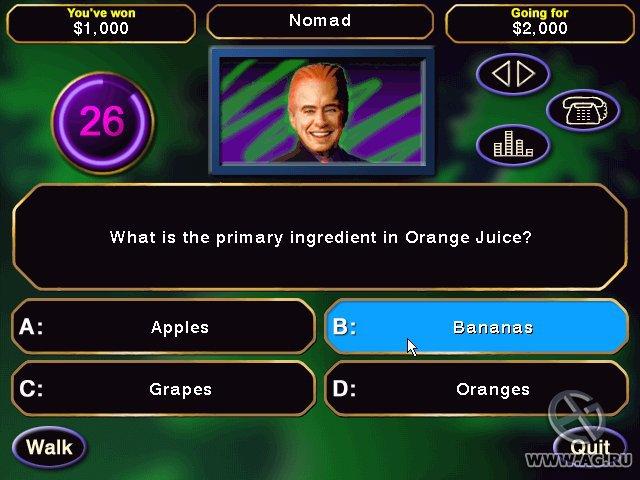 Who Wants to Be a Gazillionaire? screenshot