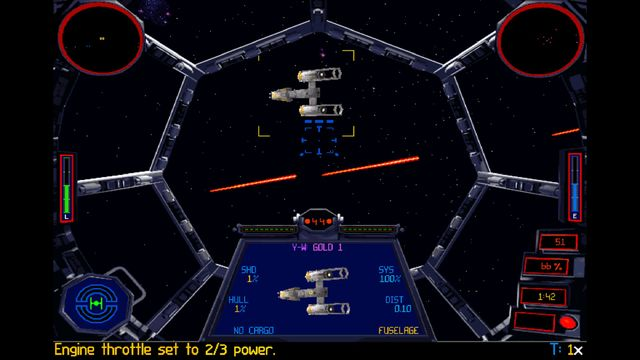STAR WARS: TIE Fighter Special Edition screenshot